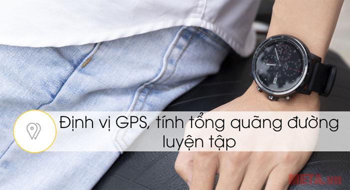 Bạn sẽ ghi lại toàn bộ quãng đường di chuyển với chiếc đồng hồ này