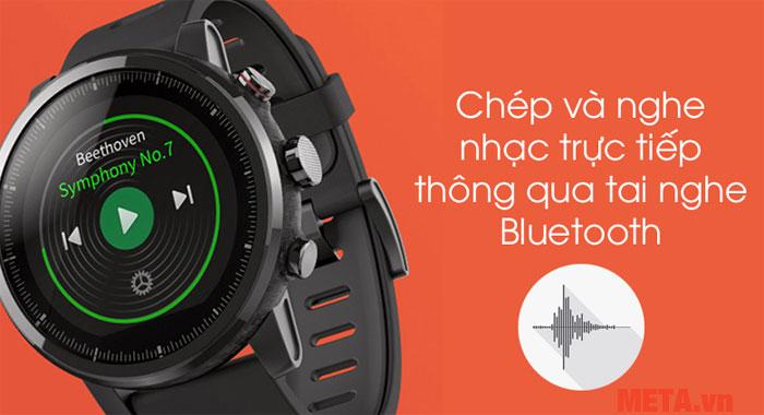 Bạn có thể nghe nhạc với chiếc đồng hồ này