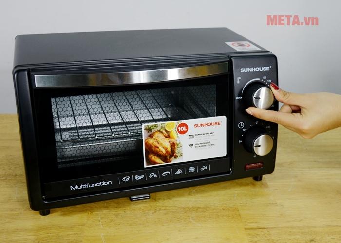 Điều chỉnh nhiệt từ 100 - 250 độ C