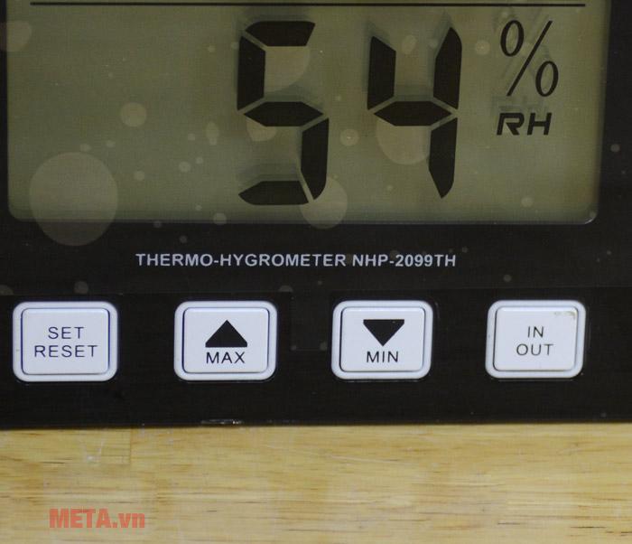 Bảng điều khiển nhiệt ẩm kế