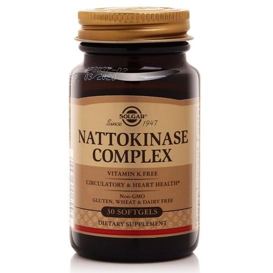 Thực phẩm bảo vệ sức khỏe Nattokinase Complex Solgar (30 viên)