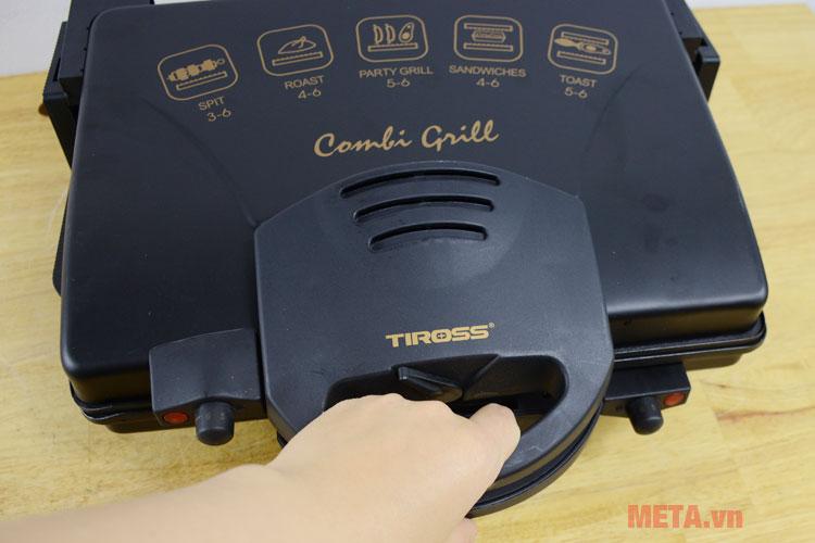 Kẹp nướng điện thịt đa năng Tiross TS-965