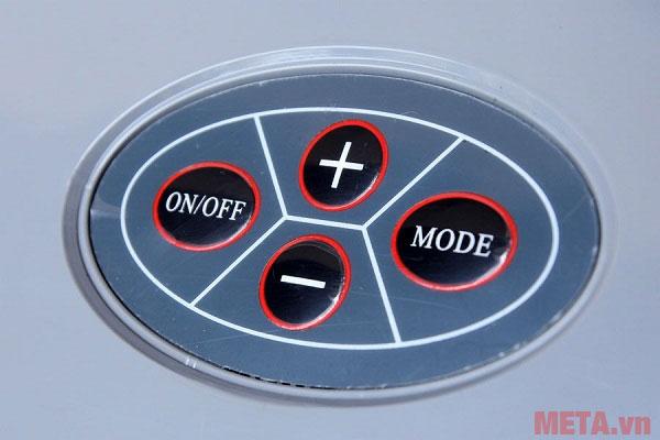Các nút điều chỉnh nhiệt độ
