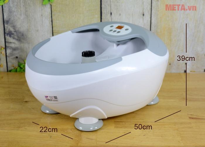 Kích thước bồn massage chân Beurer FB-50