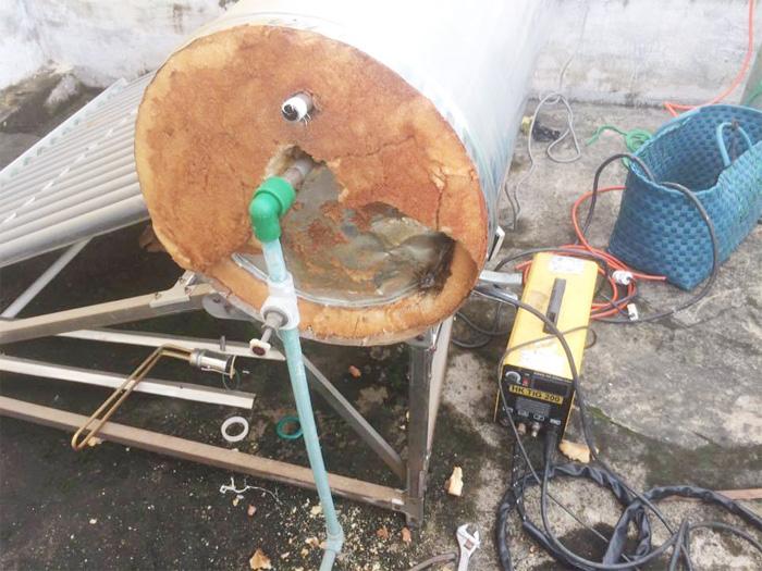 ống thu nhiệt