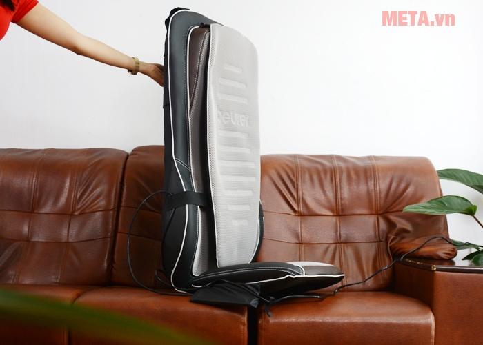 Đệm massage Beurer MG300 giúp giảm đau mỏi hiệu quả