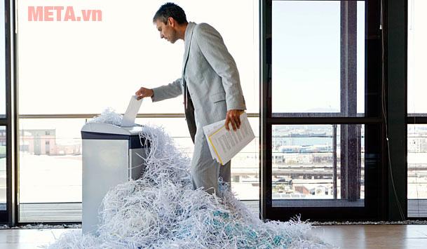 Khối lượng giấy cần hủy
