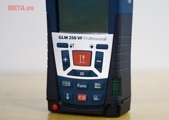 Bảng điều khiển máy đo khoảng cách laser Bosch GLM 250 VF