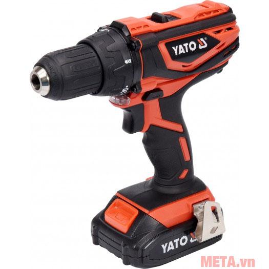 Hình ảnh máy khoan vặn vít dùng pin Yato 18V YT-82780