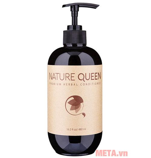 Dầu xả thảo dược cao cấp Nature Queen (480ml)