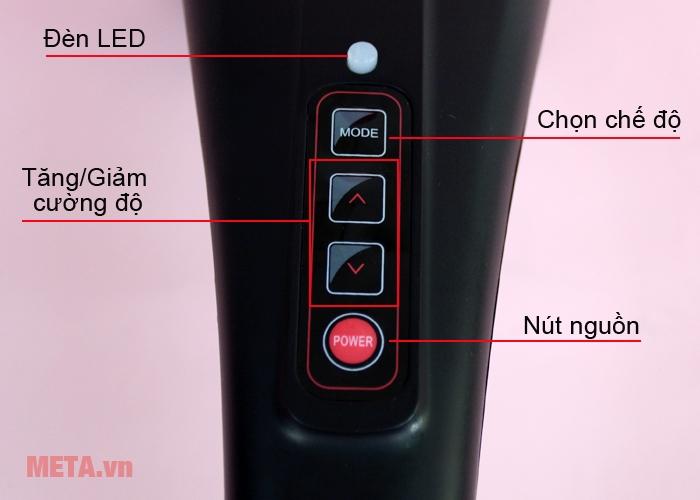 Bảng điều khiển máy massage cầm tay Maxcare Max631S