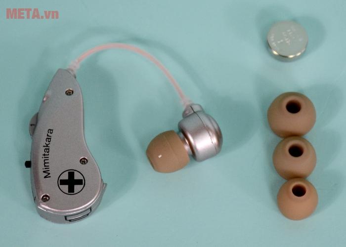 Máy trợ thính không dây Mimitakara UP-6B51 sử dụng đơn giản, hiệu quả