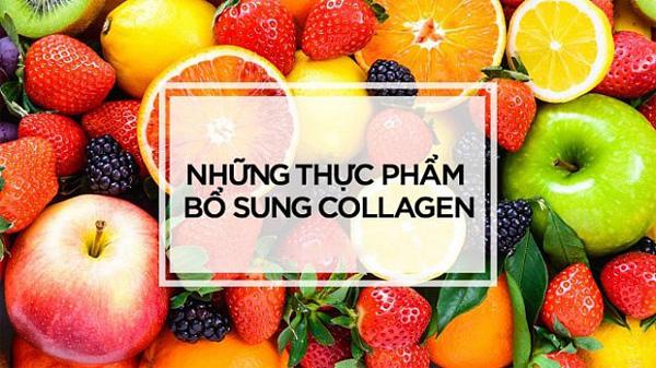 thực phẩm bổ sung collagen