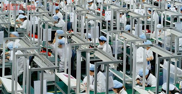 Nhà máy sản xuất đặt tại Trung Quốc