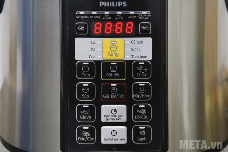 Bảng điều khiển Nồi áp suất điện