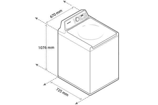 Máy giặt cửa trên Electrolux