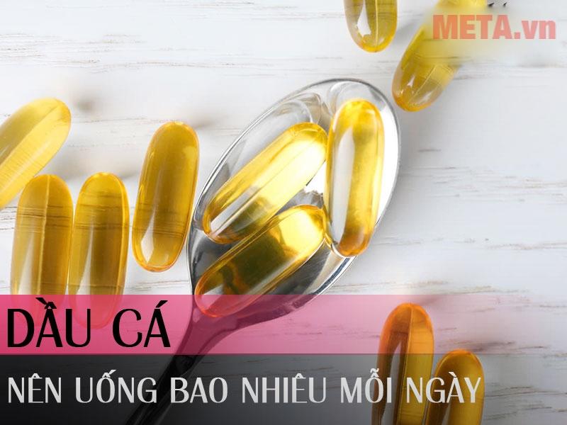 Hướng dẫn cách uống Omega 3 1000mg cho người mới