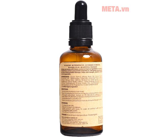tịnh dầu bảo vệ tóc