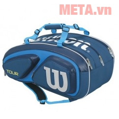 Bao vợt Tennis Wilson Tour V 15 PACK BL WRZ843615 (Thermoguard 2.0)