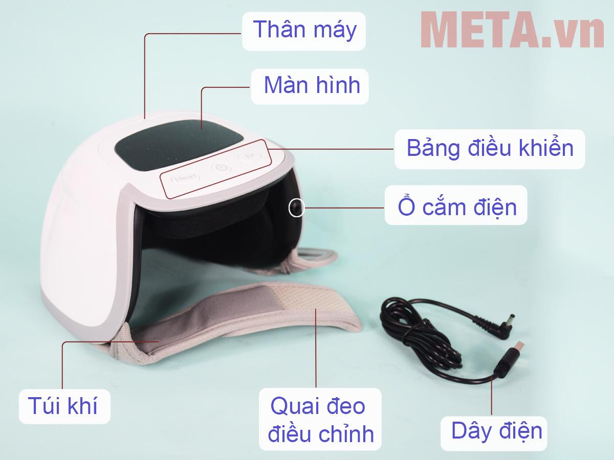 Máy massage trị liệu đầu gối