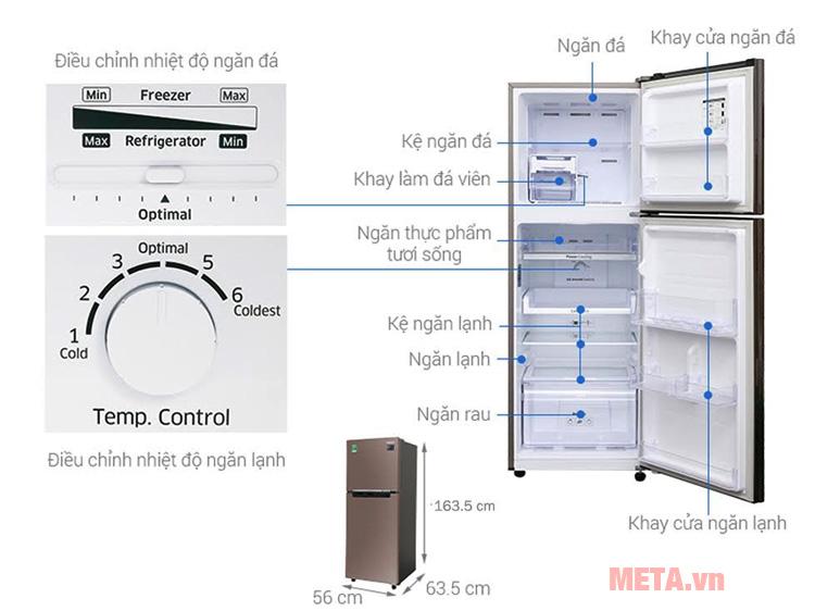 Cấu tạo Tủ lạnh Inverter