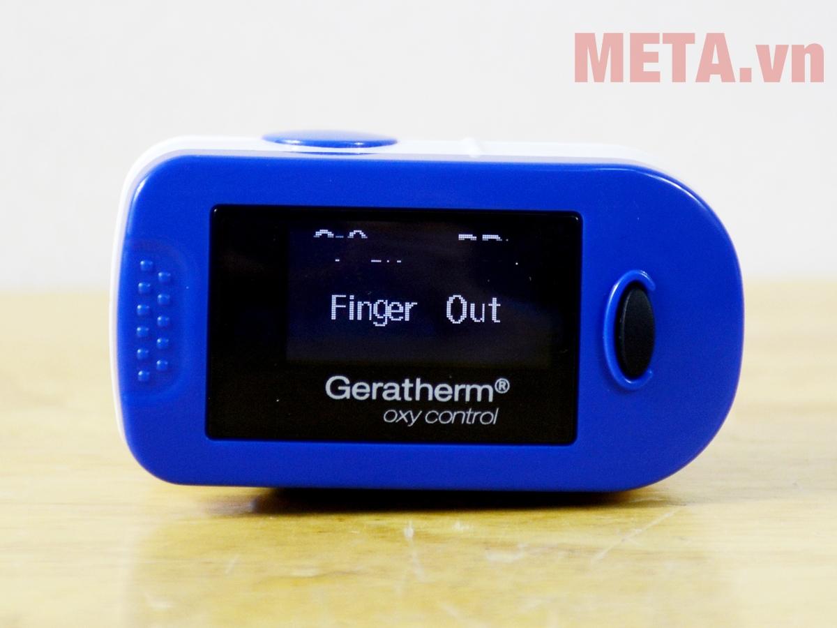 Máy đo nồng độ oxy trong máu Geratherm GT-300C203 màu xanh