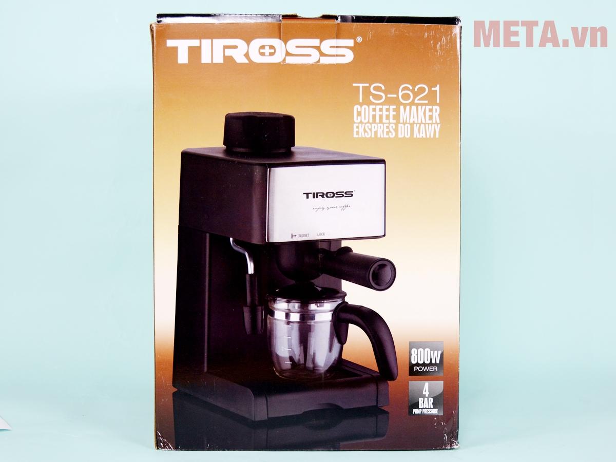 Hộp đựng máy pha cà phê Espresso Tiross TS621