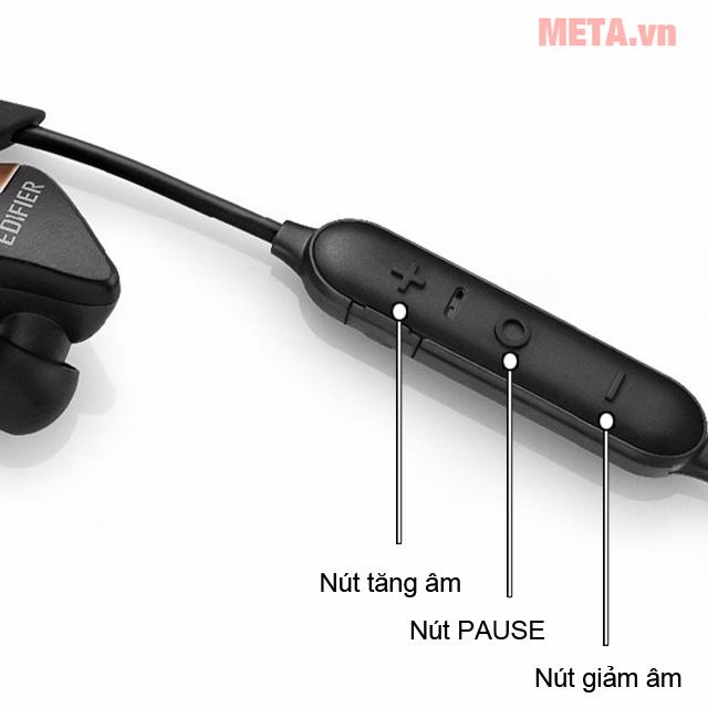 Điều khiển trên tai nghe