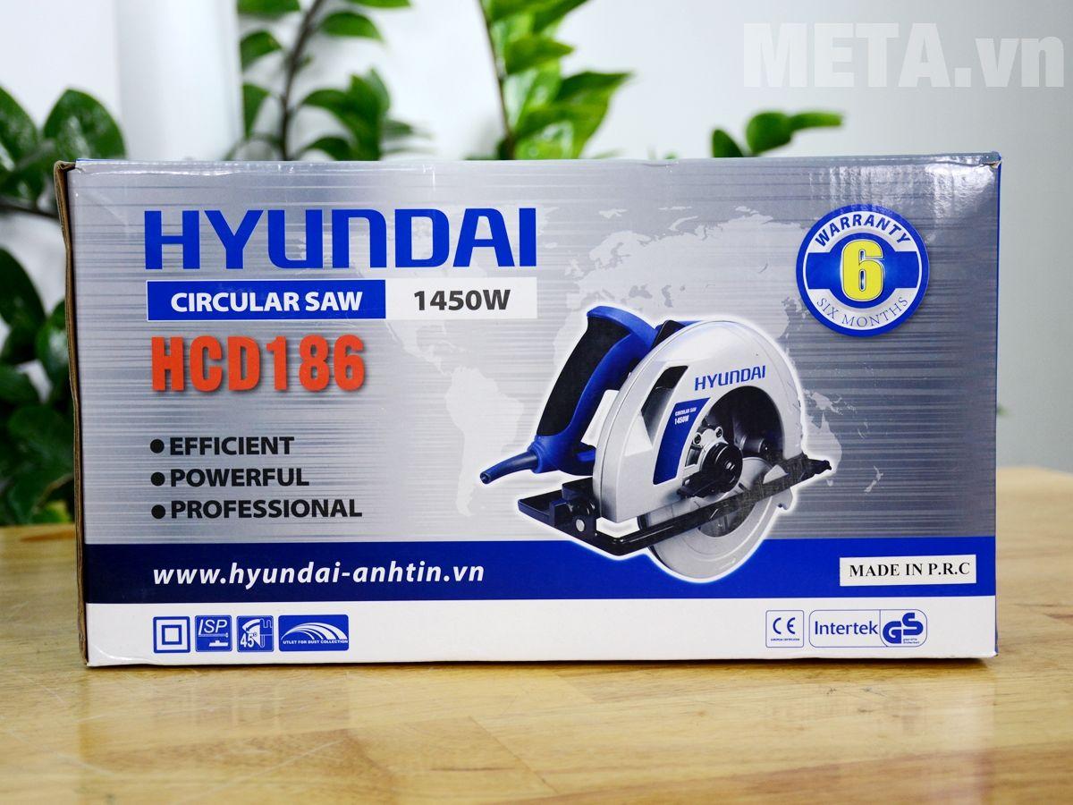 Hộp đựng máy cưa đĩa HCD186 và các phụ kiện