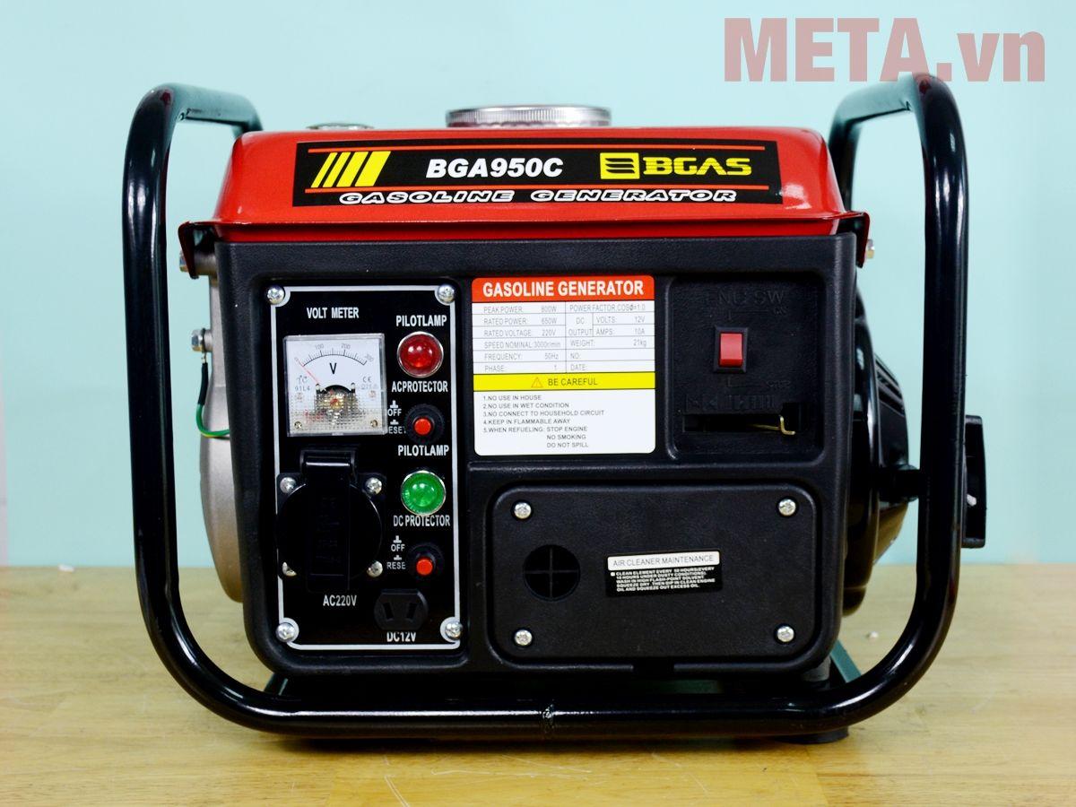 Máy phát điện chạy xăng Bgas BGA950B (BGA950C) 0.8KVA