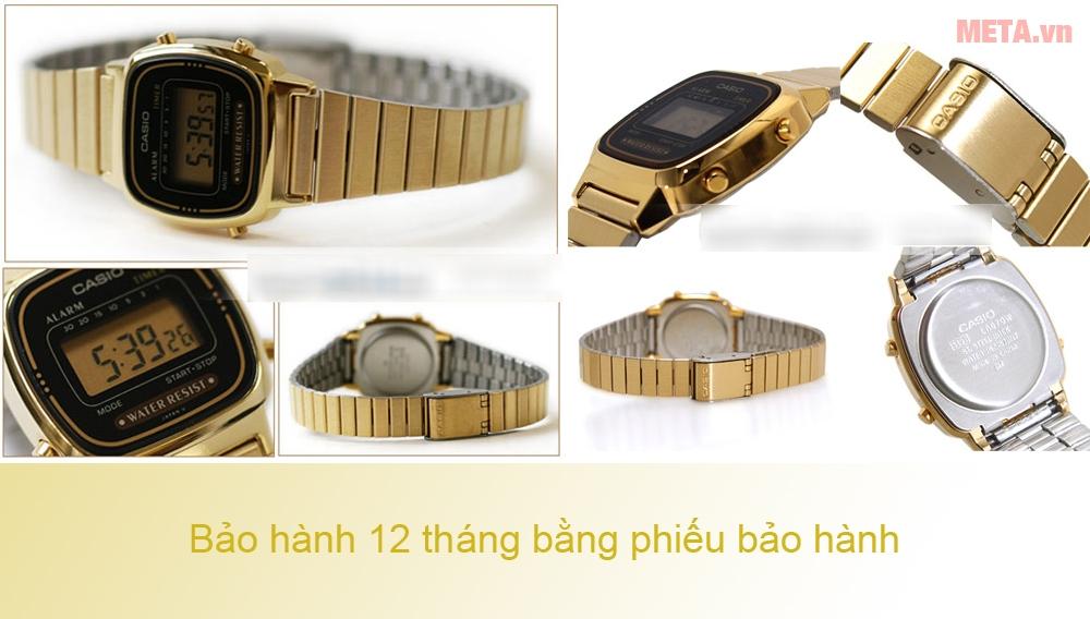 Đồng hồ nữ dây kim loại