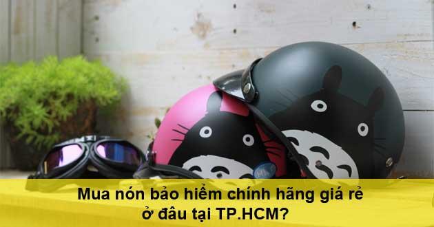 Mua nón bảo hiểm ở đâu tại TPHCM