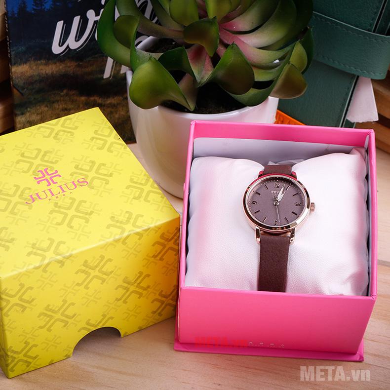 Mở hộp Đồng hồ nữ Julius