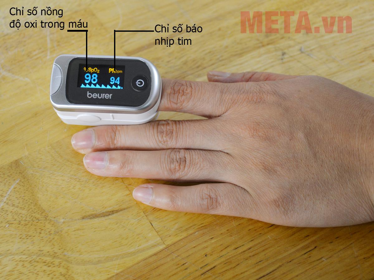 máy đo nồng độ oxi trong máu