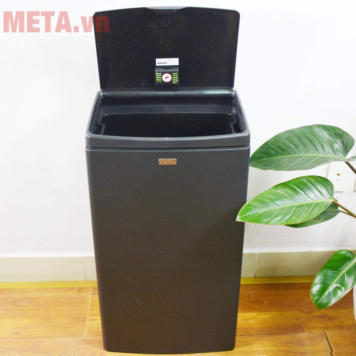 Hình ảnh thùng rác nhấn vuông lớn Fitis STL2-903