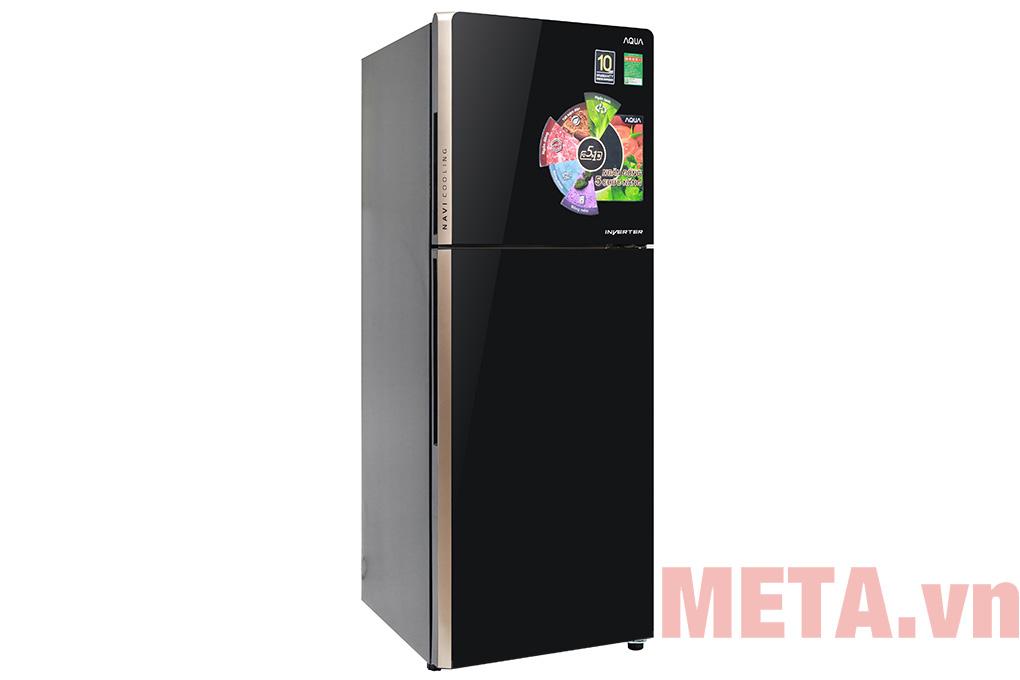 Tủ lạnh Inverter AQUA AQR-IG248EN (GB) 235 lít