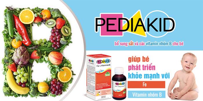 Sắt và Vitamin nhóm B là hai dưỡng chất giúp cơ thể bé khỏe mạnh