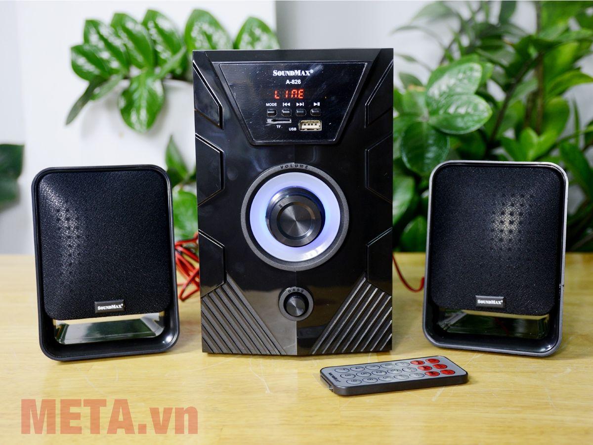 Trọn bộ loa vi tính Soundmax A826 2.1