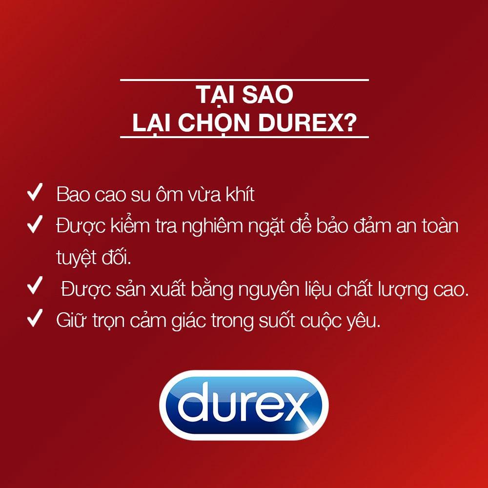 Những lý do bạn nên chọn bao cao su Durex