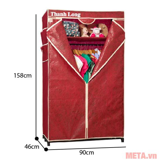 Tủ vải Thanh Long TVAI02
