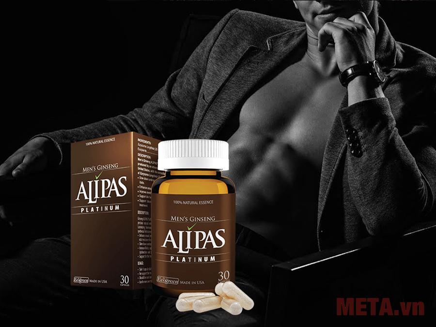 Sâm Alipas Platinum là sản phẩm dành cho phái mạnh