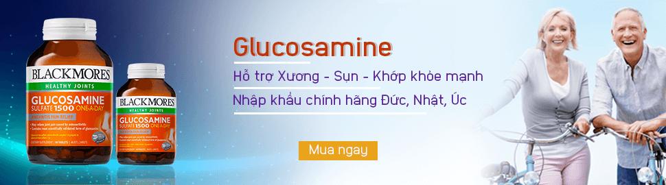Glucosamine Thuc pham giup xuong sun khop khoe manh