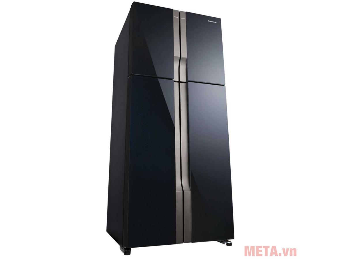 Tủ lạnh Panasonic màu đen