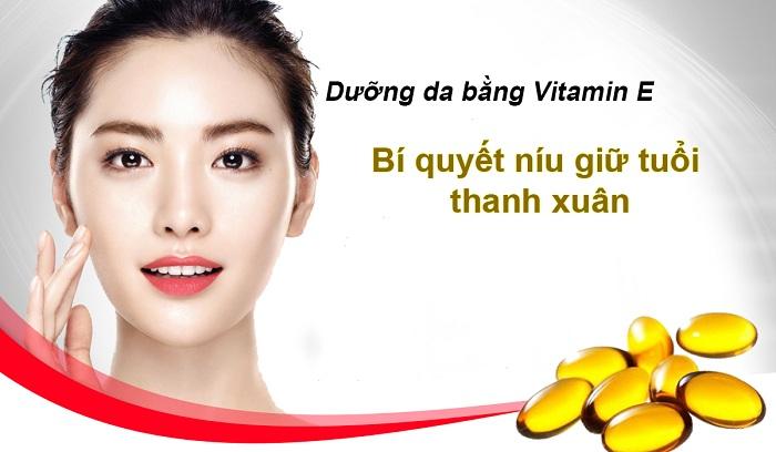 Vitamin E - bí quyết của làn da trẻ trung, căng mịn