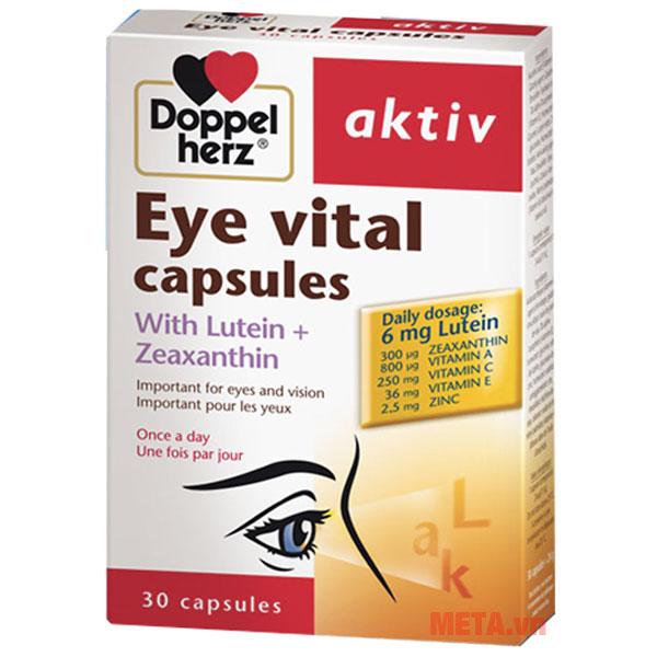 Thực phẩm bổ mắt Doppelherz Aktiv Eye Vital Capsules