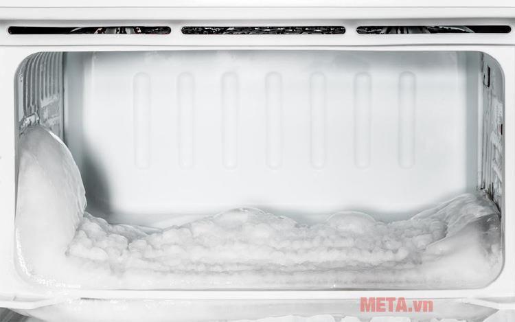 tủ lạnh bị đóng tuyết gây nhiều bất lợi