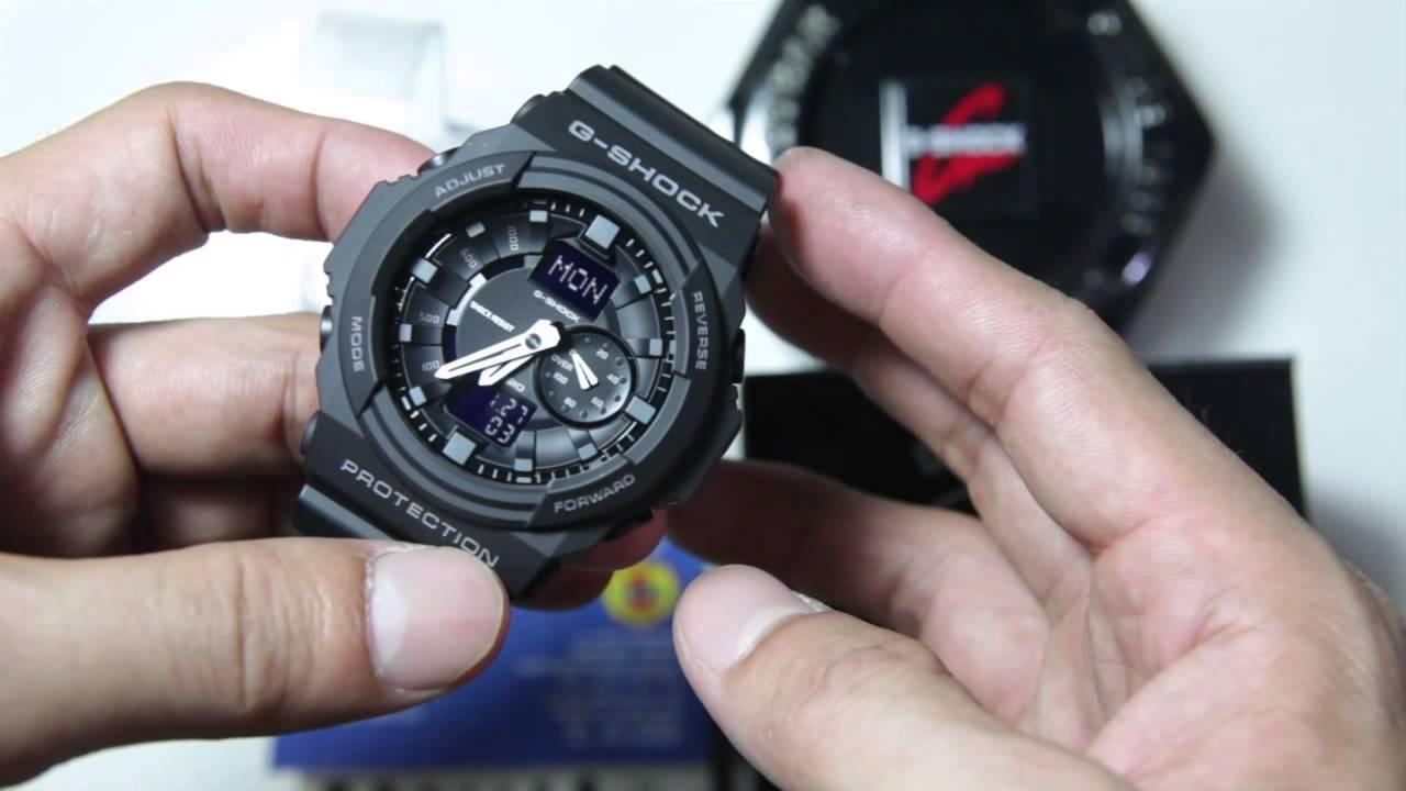 Cách chỉnh giờ đồng hồ G Shock