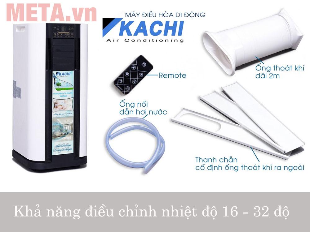 Máy lạnh di động 1HP 9000BTU Kachi MK20 (KC-ML01)