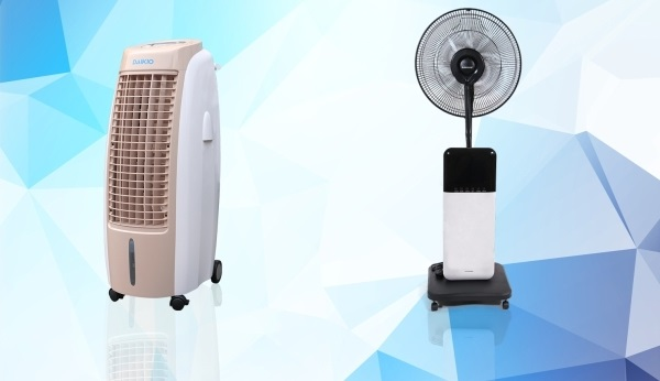 Quạt hơi nước và quạt phun sương là hai sản phẩm khác nhau
