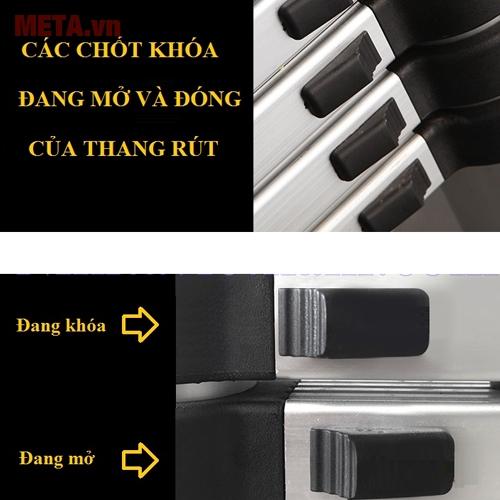 Các nút khóa của thang